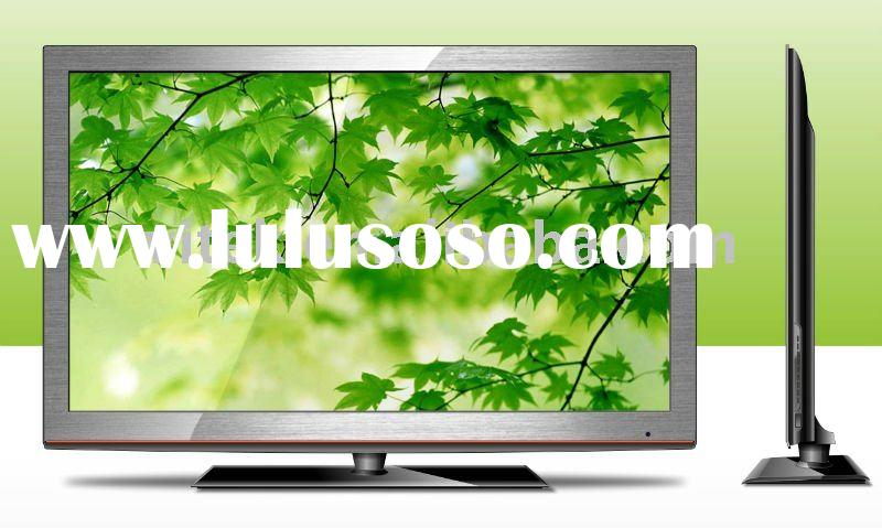 "Silver Slim 42"" FHD LCD TV with HDMI and USB"