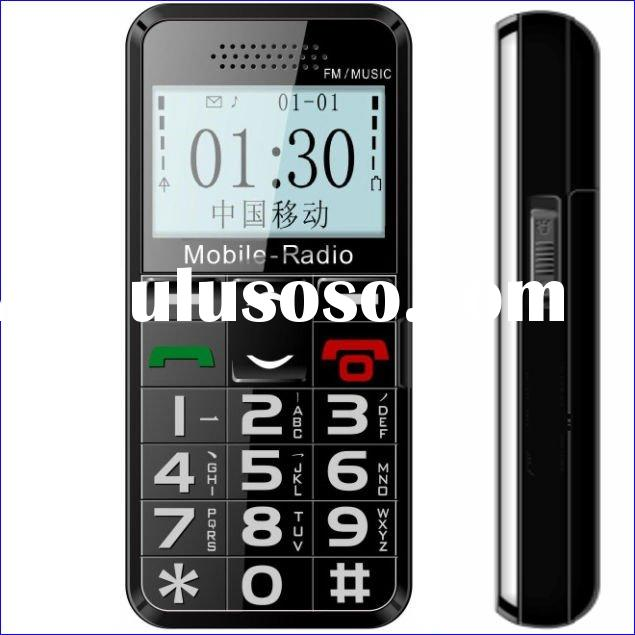 Simple large button mobile phones for seniors/rogers senior cell phone/senior citizens phones
