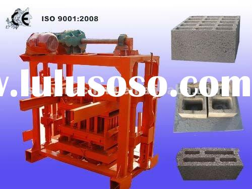 Simple manual block/brick/paver making machine China