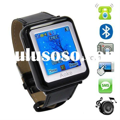 Smallest 1.3 Inch Quality Camera Watch mobile phone