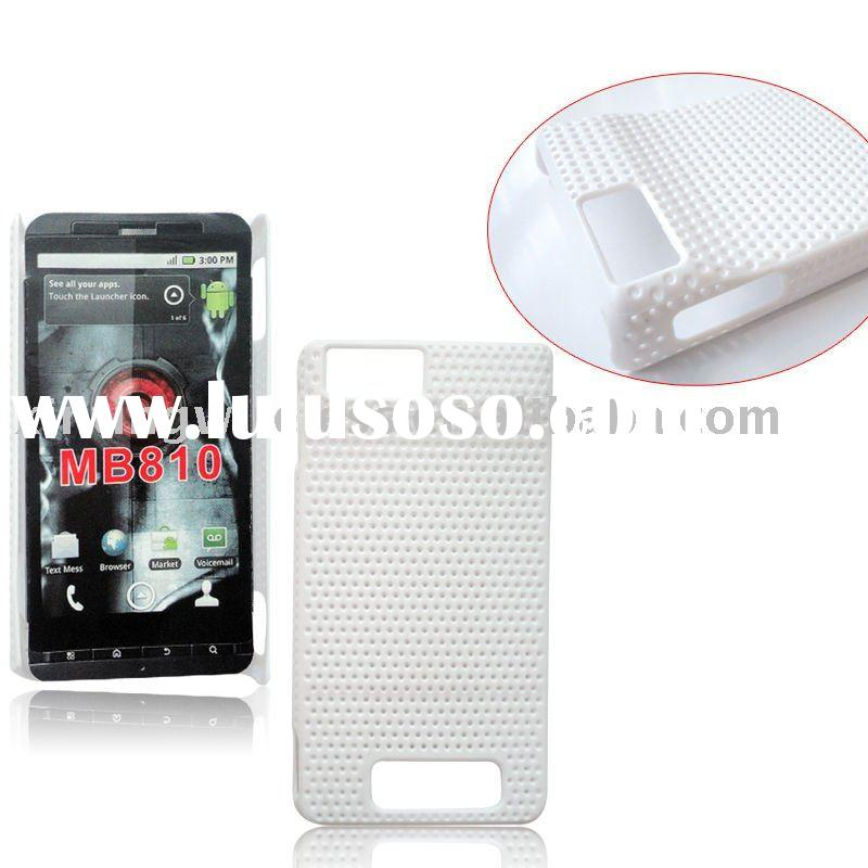 Snap-on hard case for Motorola Droid x MB 810