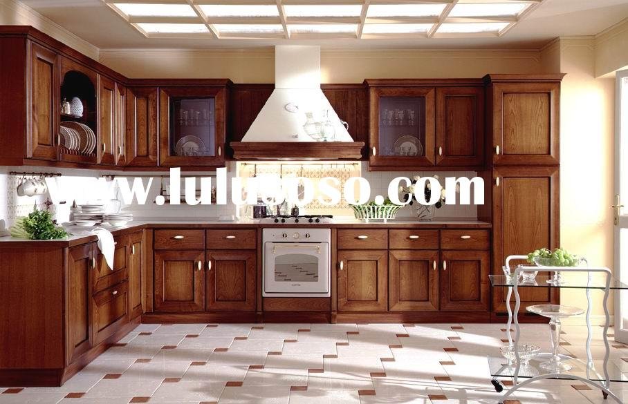 Solid Maple Wood Kitchen Furniture /Kitchen Cabinets/Kitchen Cabinetry
