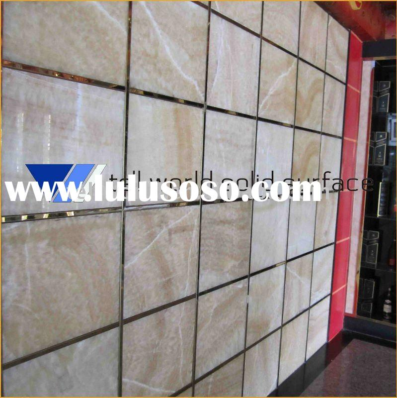 Solid Surface decorative wall panel/tile