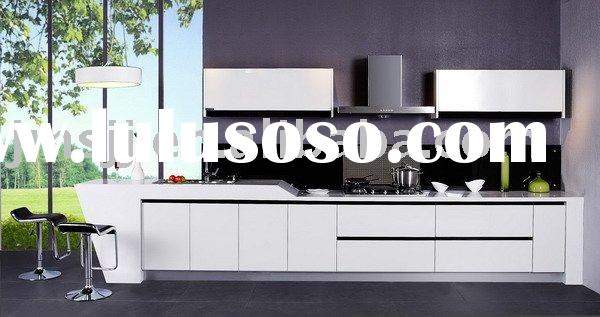 Supply modern kitchen cabinets (2011 Most Popular Design) Model-KC3172