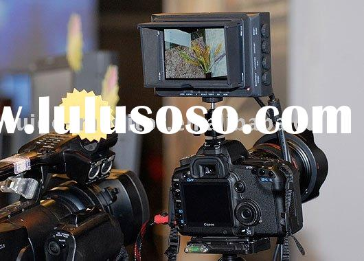 TFT LCD HD 4.8 inch SLR camera monitor for TV/film/video shooting as broadcast equipment