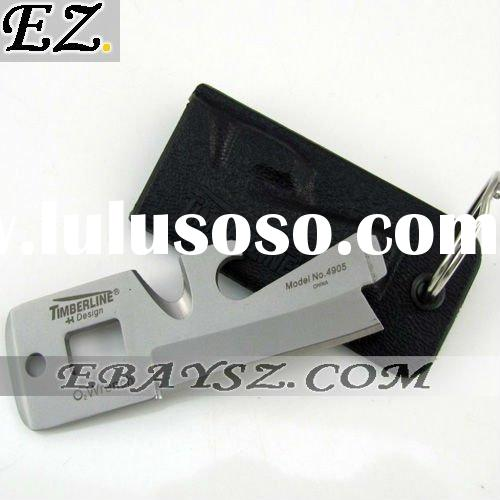 TIMBERLINE EDC Keychain Survival tools with knife, bottle opener DZ-304 Wholesale/Retail