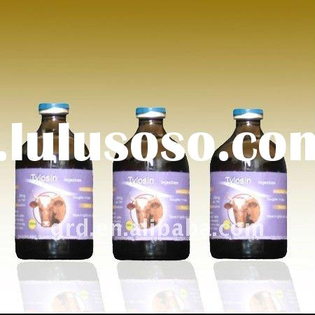 Tylosin Tartrate injection(white glass bottle and rubber aluminum cap)