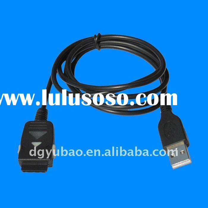 USB to 24 pin data cable with LED for Samsung mobile phone