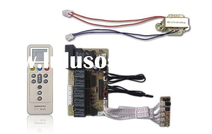 Universal A/C air conditioner PCB control system board w/capacitance