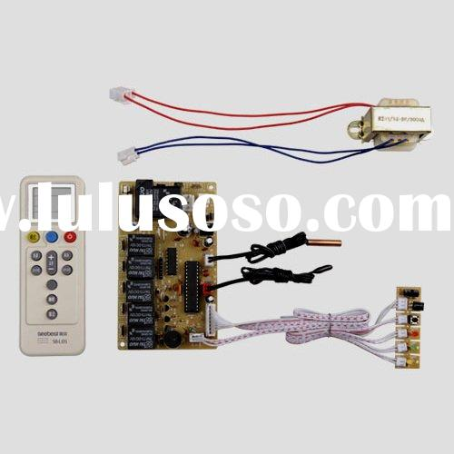 Universal ac control system for split air conditioner