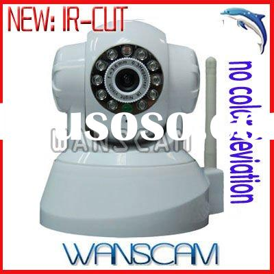 WIFI Pan/Tilt Two Way Audio IR Wireless Network IP Camera