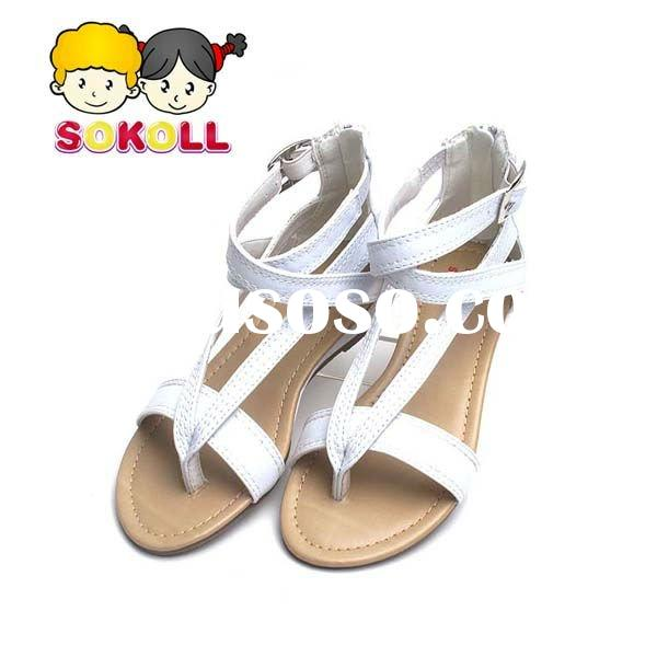 Wholesale&retail Children Shoes Sandals White girls new sandals Kids