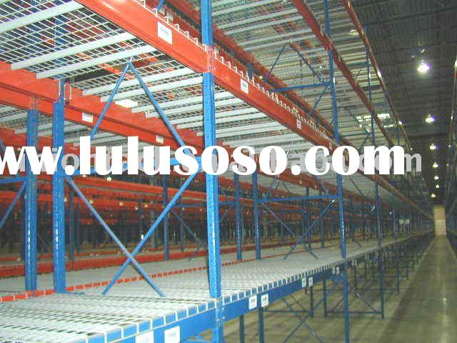 Wire Mesh Deck Racking