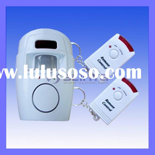 Wireless Burglar Alarm System Infrared Remote Control Alarm