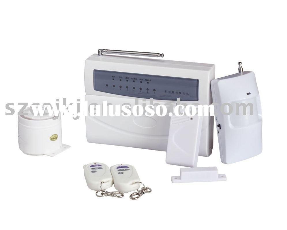 Wireless Burglar alarm system /Wireless auto dialer Intruder alarm system/Wireless Intrusion alarm s