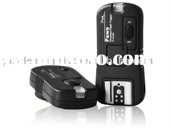 Wireless Flash Trigger Remote control for Canon EOS 50D,40D,5D MarkII with Shutter Remote and Flash