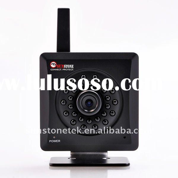 Wireless N internet camera IP-109W with built-in infrared lighting, motion detection and SD card rec