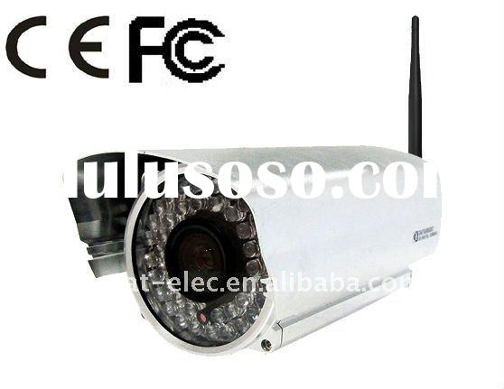 Wireless Remote Control IR Waterproof IP Camera