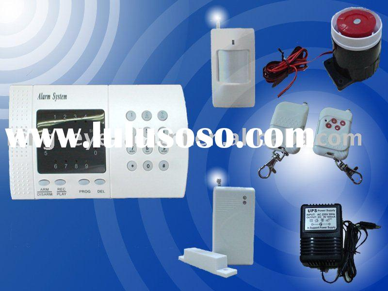 Wireless home/ business security alarm system