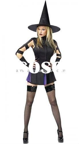 Witch fancy dress/carnival party costume/movie dresses for women