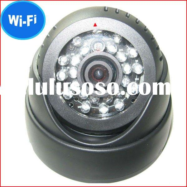 With 24pcs LED for 3-8 meters night vision distance wireless camera security/small wireless camera/c