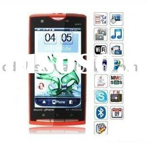 X10 GSM Mobila Phone,TV Mobile Phone with WIFI,GPS Cheap Mobile Phone