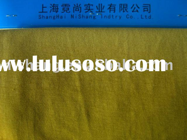 ZY7030AS 67.5%bamboo 27.5%ORGANIC COTTON 5%spandex Interlock fabric