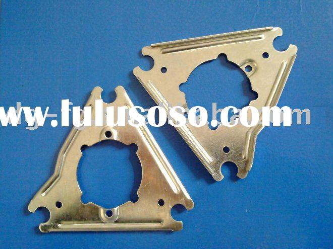 Zinc Coated Steel Iron sheet metal stamping Motor Mounting Plate