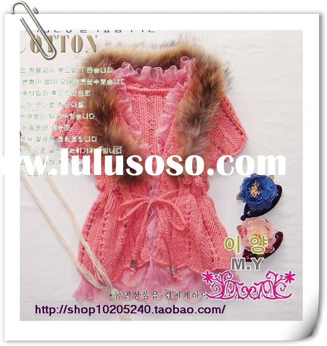 (580338) Lady clothing, Ladies' Sweater coat, Fashion clothes.