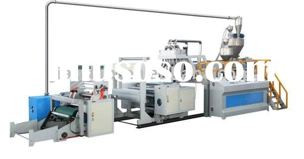 a).double layer stretch film machine (LLDPE LDPE)