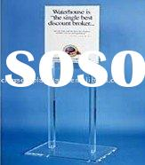 acrylic brochure holder,acrylic out-door display,acrylic poster display