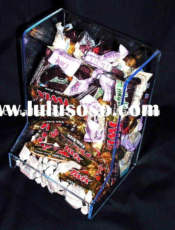 acrylic candy bin/box/stand/display/holder/rack