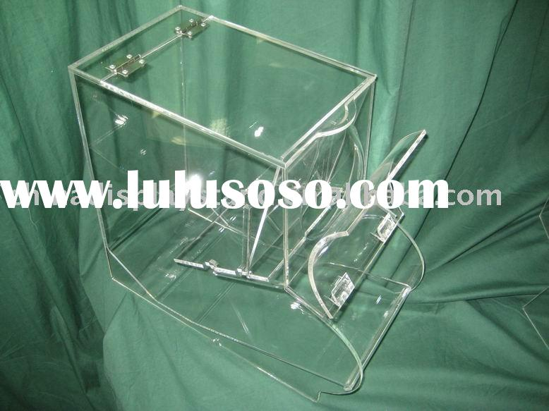 acrylic candy box(dispenser,bin,holder)
