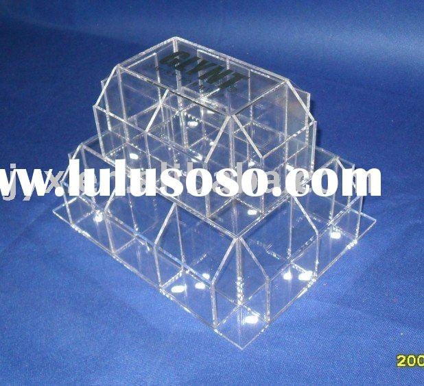 acrylic exhibition display with high quality