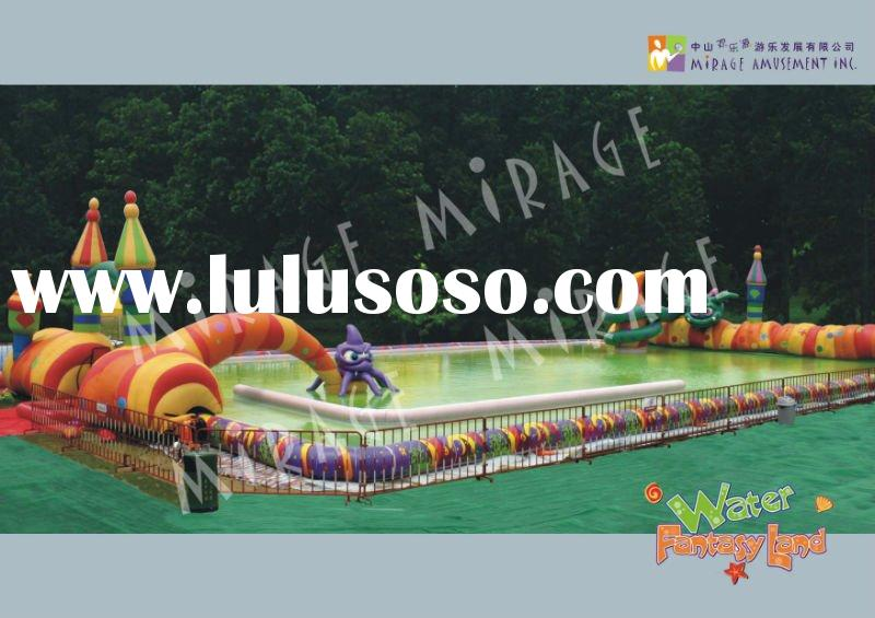 amusement park and playground--Bumper Boat Pool