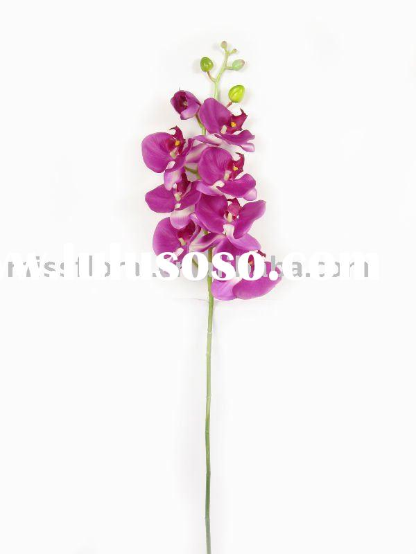 artificial latex orchid flower
