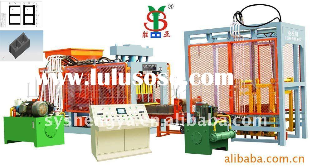 automatic block making machine with large capacity(QT8-15)different hollow block/solid brick/pavemen