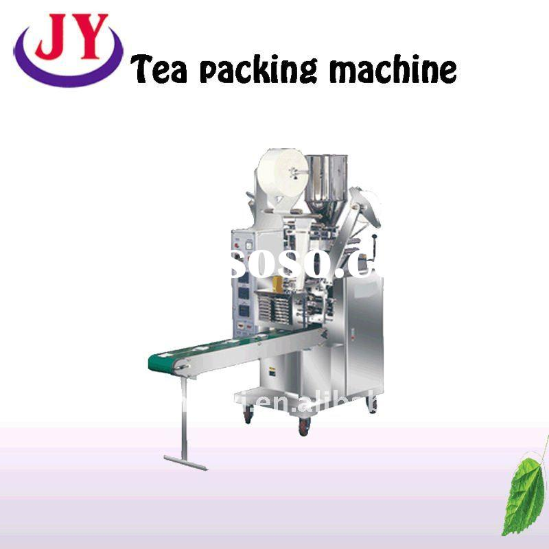 automatic tea bag packaging machine with a line and label