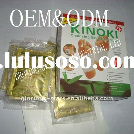 bamboo foot detox patch new 2011