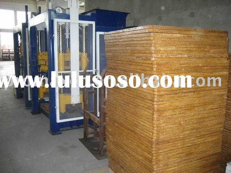 bamboo pallet panel for concrete block machine