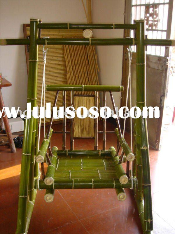 bamboo products,bamboo furniture,bamboo swing chair for outdoor leisure