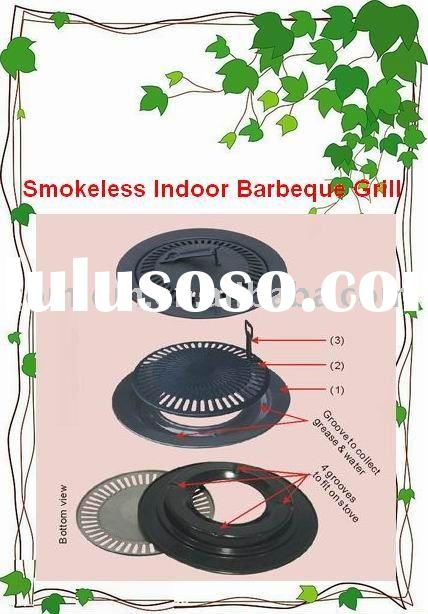 barbecue plate Smokeless Indoor Barbecue Grill Used in Portable Gas Stove