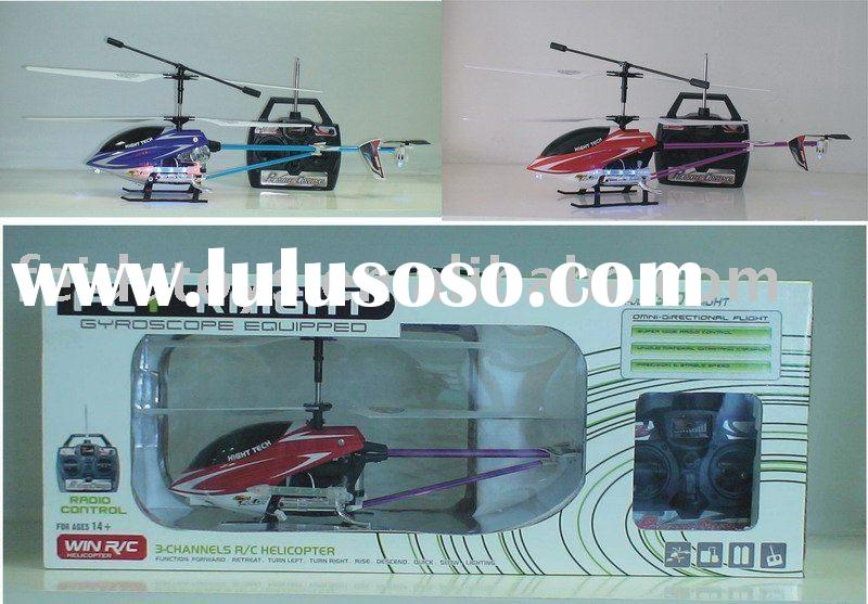 best sale 3ch big remote control helicopter with missile lights