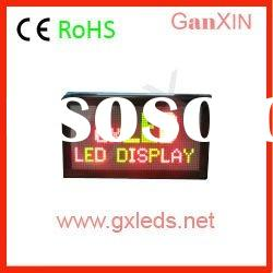 bicolor p4 clear text message led matrix display module
