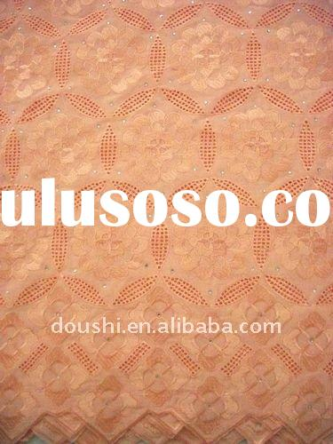 big lace embroidery fabric african lace