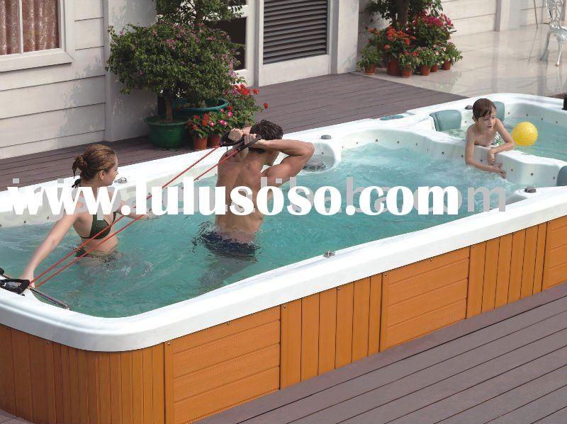 Swim spa big swim spa big manufacturers in page 1 for The capacity of a swimming pool