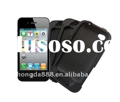black mobile phone silicon case for apples i-phone