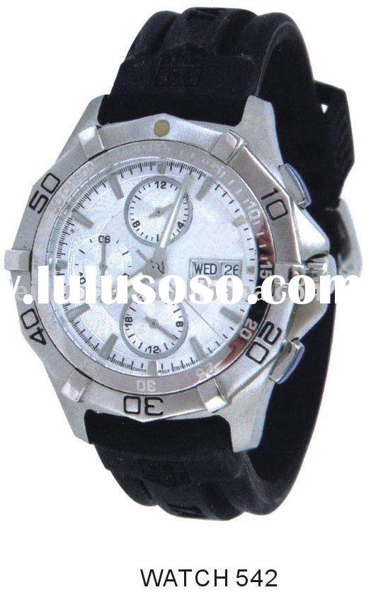 business watch, stainless steel watch, sports watch