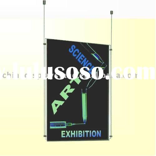 ceiling-hang double sided Acrylic Poster Frame