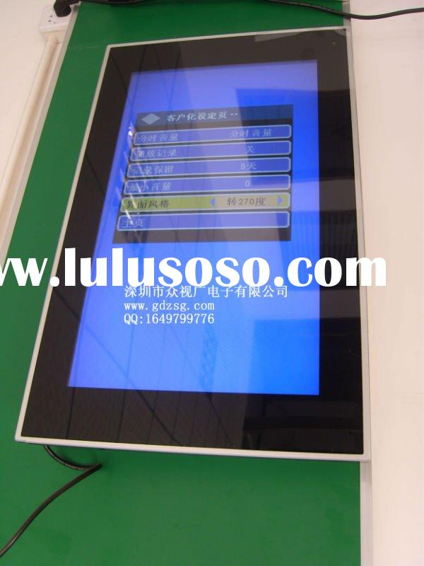 chinese new year decoration items big size lcd touch screen kiosk